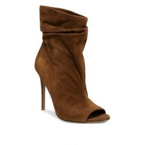 Steve Madden Brown Suede Surrender Booties